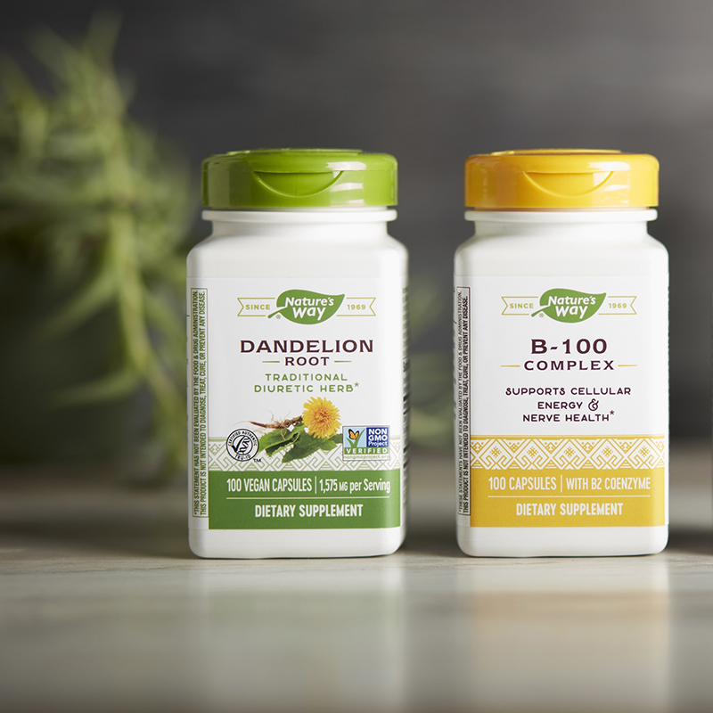 Nature's Way unveils sustainable supplement packaging with shelf