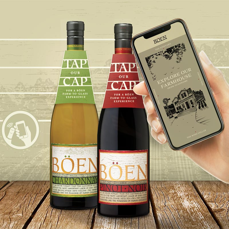 Connected wine: Californian brand partners SharpEnd and Guala Closures for US-first large-scale NFC deployment
