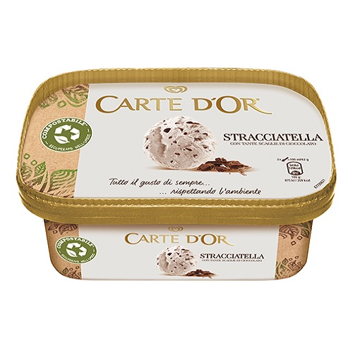 Unilever's Carte d'Or ice cream relaunches in compostable packaging