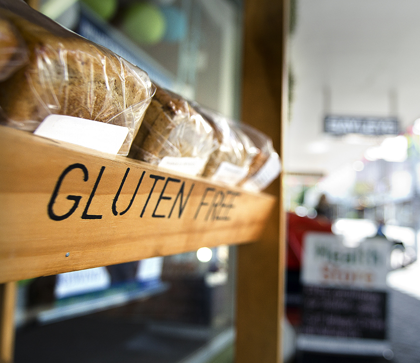 Gluten-free diet health benefits actually down to change in