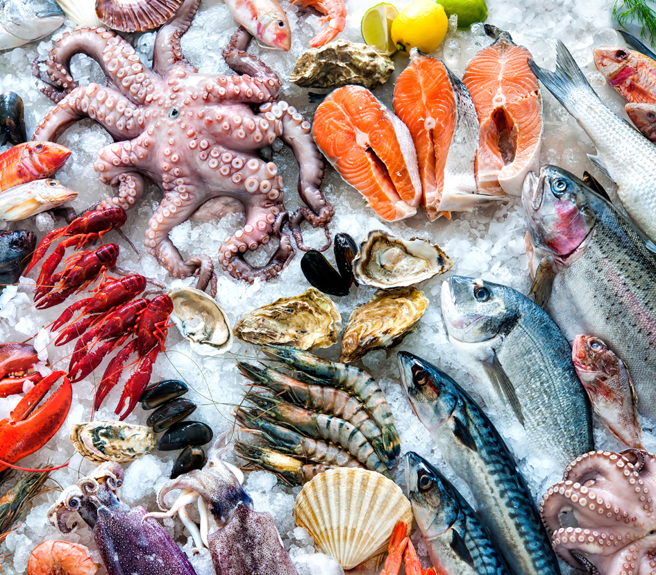Starch-based, edible film for seafood could kill pathogens on food surfaces