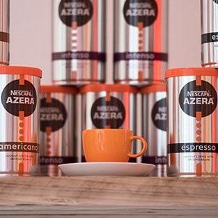Nescafé Azera rebrand: New roasted ground coffee bags