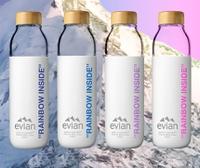 f7c4e8cb49 Drink the rainbow: Evian reveals Virgil Abloh limited-edition bottles